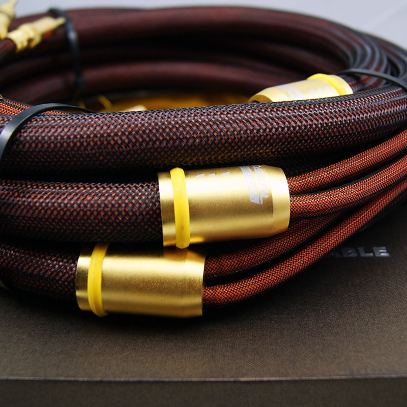 Choseal LB-5109 OCC Speakers Cable 2.5M Banana Plug OD=19mm Pair