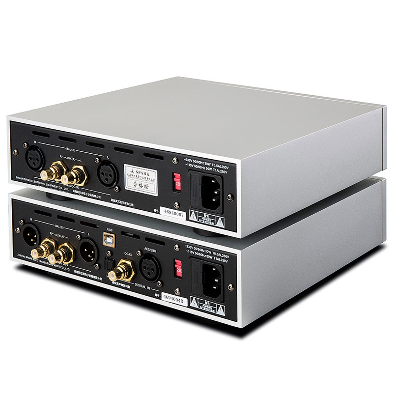Cayin IHA-6 & iDAC-6 vacuum Tube Decoder fully Balanced headphone Amplifier Set