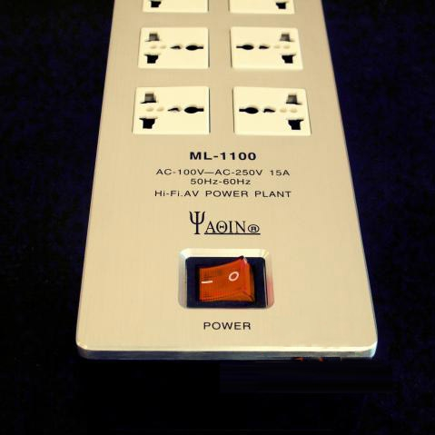 YAQIN ML-1100 HIFI AC Audiophile Power Filter Plant Sockets