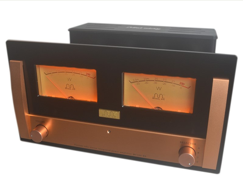 MingDa MC368-BSE Class A KT90 Valve Integrated Amplifier Remote 2014