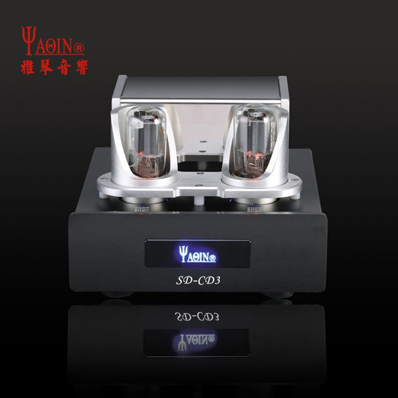 YAQIN SD-CD3 Upgrade Tube Buffer Processor For CD/VCD/DVD