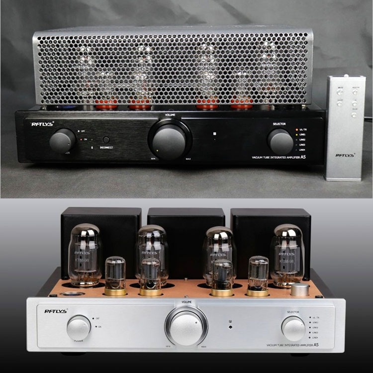 RFTLYS A5 KT88 Vacuum Tube HiFI Intergrated Amplifier Hand Scaffolding New
