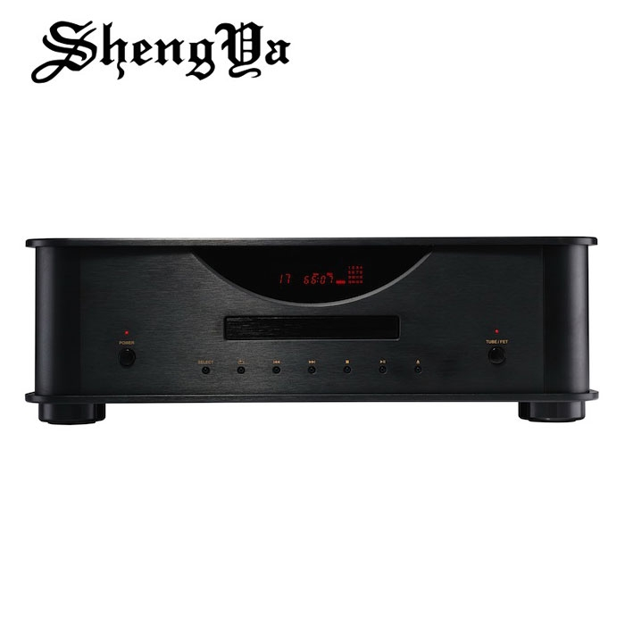 Shengya CD-25 CD Player Transistor with Tube Output for Advanced Phono