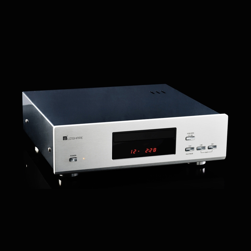 MUZISHARE X5CD 12AU7 Vacuum tube 24bit/192khz DAC CD Player