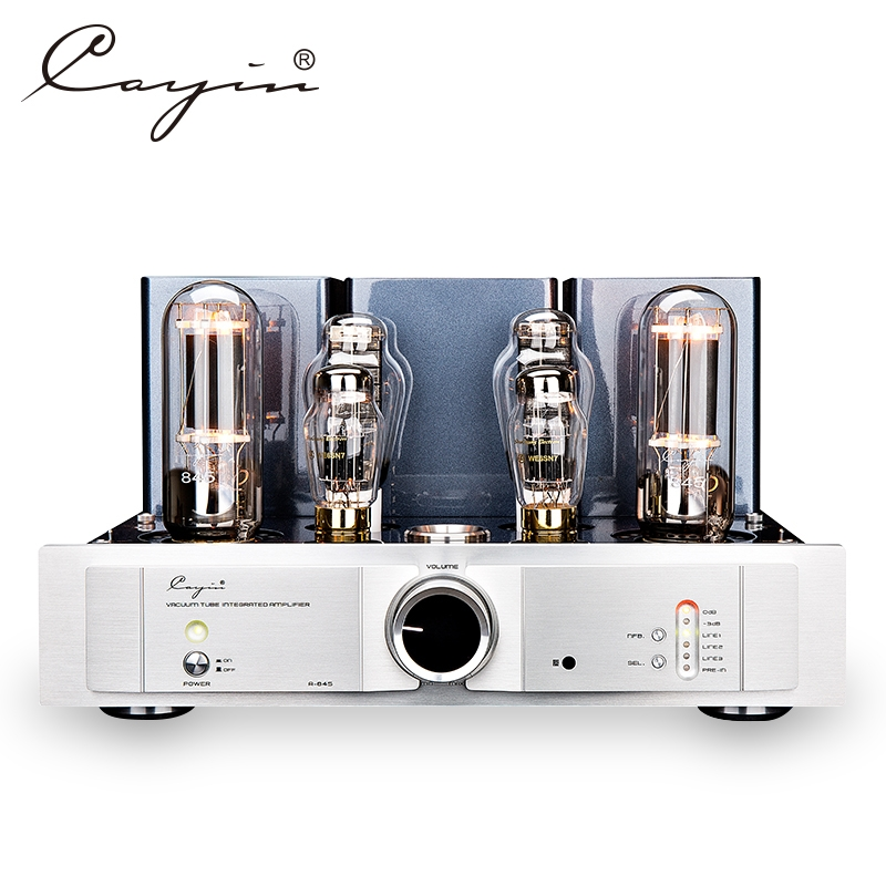 Cayin A-845 Single-end Class A Power Amplifier & integrated AMP 300B & 845 Tube