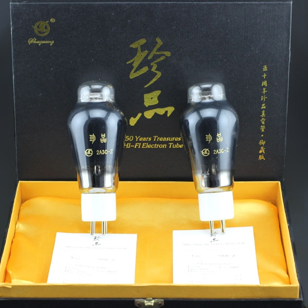 Shuguang Treasure 2A3C-Z Vacuum tube Matched Pair Collection