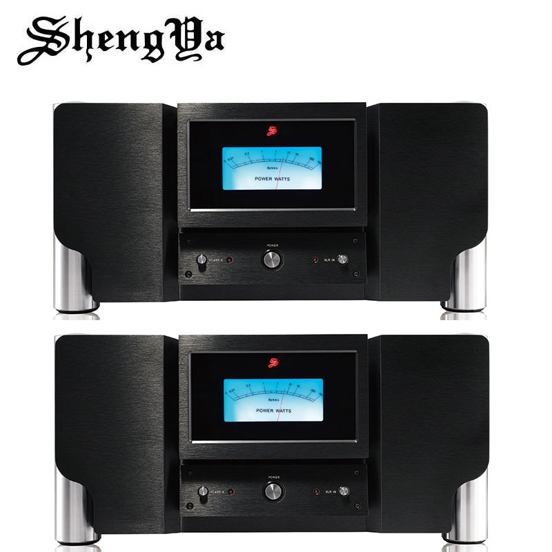 ShengYa PSM-500 Class A Power Amplifier Transistor amp monobloc full balanced pair