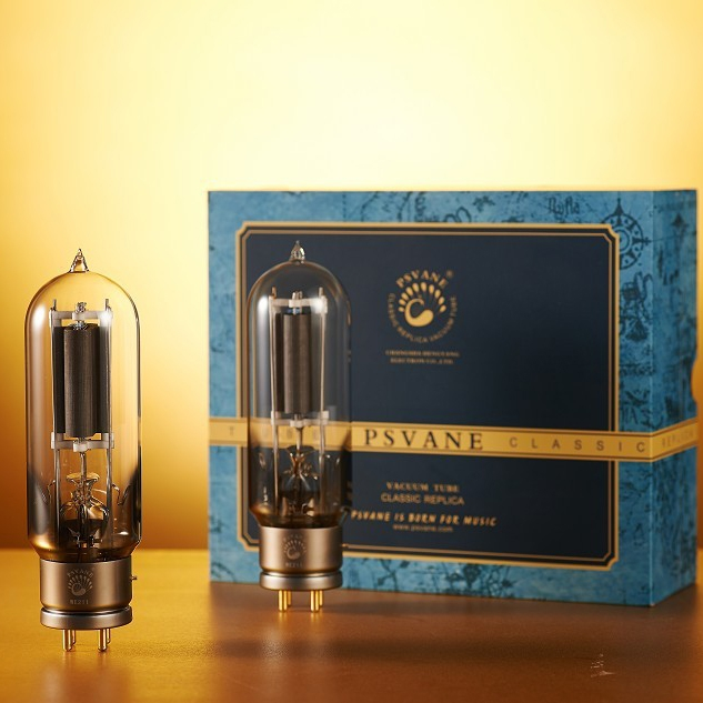 Matched Pair PSVANE WE211 Western Electric Replica vacuum tubes