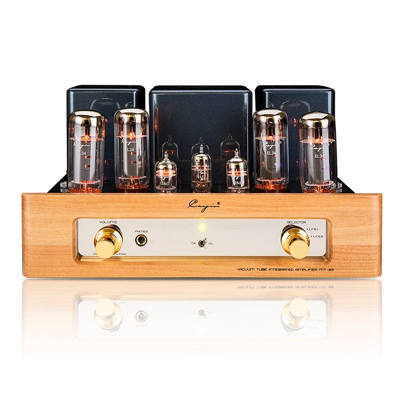 Cayin MT-35 MK2 Vacuum tube EL34 Push-pull HiFi Power Amplifier Headphone