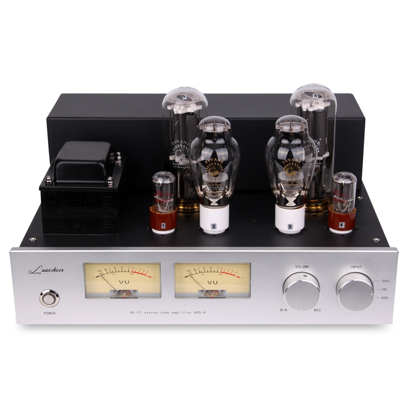 OldChen 845 Tube Amplifier HIFI Single-Ended Class A 300B 6SN7 Amp