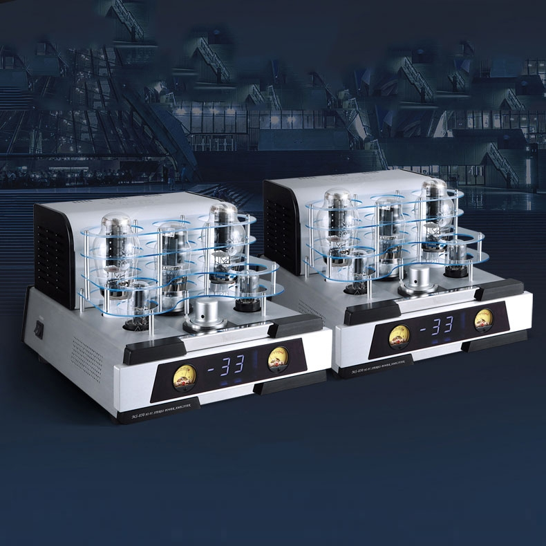 YAQIN MS-850 Class A Tube Amp HiFi Rectifier push-pull Amplifier Pair