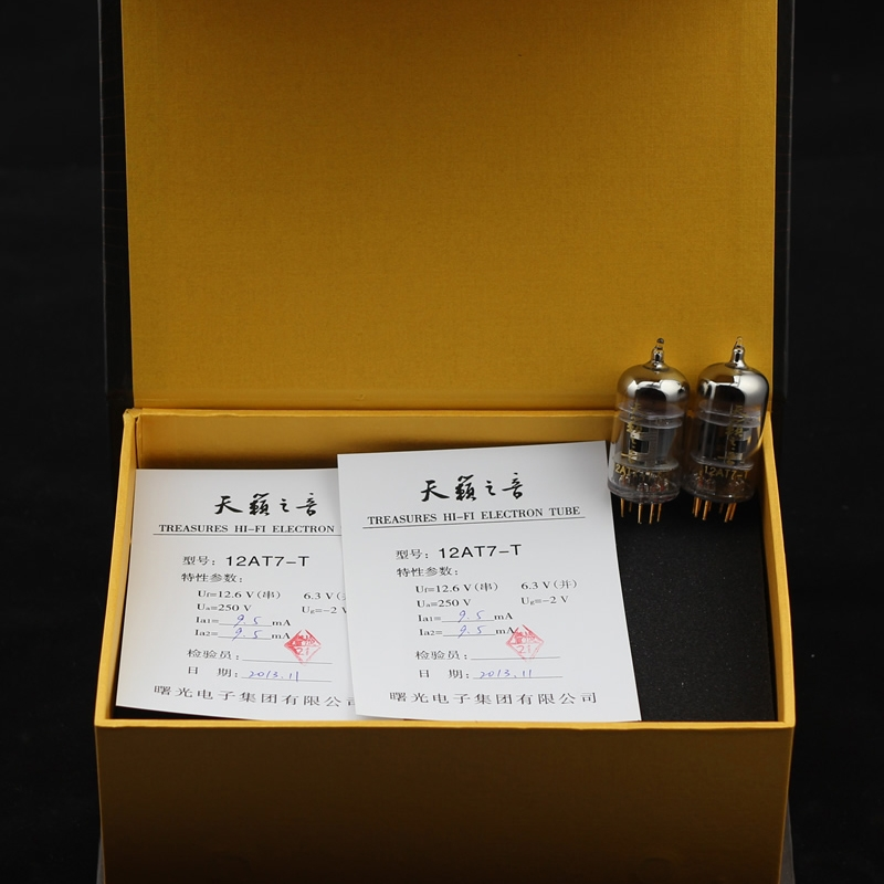 Shuguang Nature Sound 12AT7-T vacuum tube Best Matched Pair