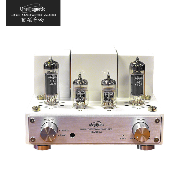 Line Magnetic Mini 218IA EL34 Hifi Headphone Vacuum Tube Amplifer Upgrade
