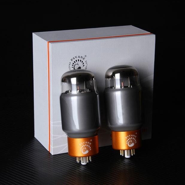 PSVANE KT88-TII Collections Matched Quad(4pcs) Vacuum Tube Gray valve